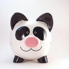 Hucha de Panda personalizadas Piggy Banco oso Panda