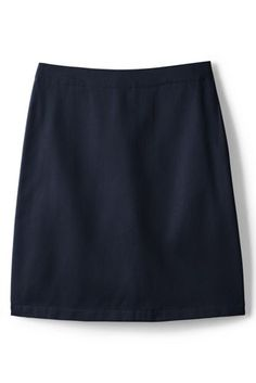 Girls+Blend+Chino+Skort+Top+of+Knee+from+Lands'+End
