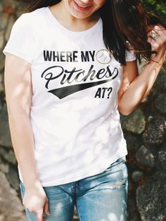 Where My Pitches At Tee
