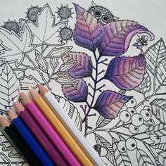 pencil blending colors / via instagram