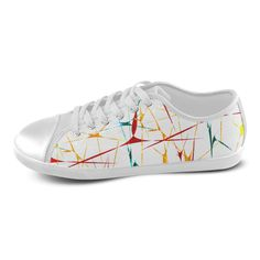 Colorful Abstract Lines Women