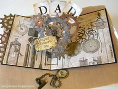 Sizzix Die Cutting Inspiration and Tips: Gearing Up For Father's Day