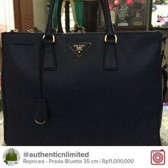 Selling Repriced - Prada Bluette 35 cm  Chat with me on Carousell to get it! Download the free app now by tapping the link on @carousell_id have fun! #carousell #carousellID #jualan #jualanku #olshopindo #jualankaka #jualansis #jualanbro #jualanbro #olshopindonesia #garagesaleindo #ootdindo #prelovedindo #olshopsby #olshopbdg #lookbookindonesia #localbrandindonesia #pradapreloved #pradabluetteforsale #pradabluettepreloved
