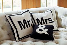 Hand-loomed in Peru, the Jonathan Adler Letter Scatter Cushion is a contemporary, reversible graphic throw pillow. See in store at Coco Republic. Classic Wedding Gifts, Original Wedding Gifts, Traditional Wedding Gifts, Unique Wedding Gifts, Personalized Wedding Gifts, Bridal Gifts, Wedding Ideas, Wedding Present Etiquette, Wedding Gift Baskets
