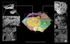 Comet boundaries: Aten, Aker, Babi and Khepry