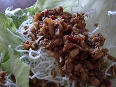 Amy's Goodies: PF Chang's Lettuce Wraps