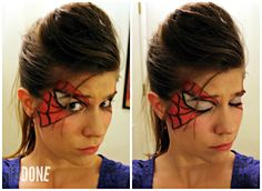 UNDONE: Spider-Man Makeup
