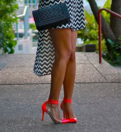 Christian Louboutin neon shoes #prostishoes #shoes #heels