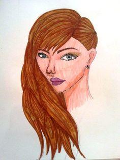 Sketchbook: First Face