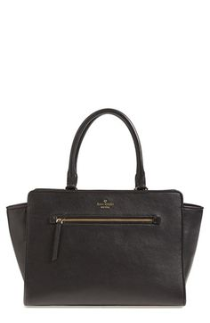 kate spade new york 'north court - anton' pebbled leather satchel (Nordstrom Exclusive) | Nordstrom