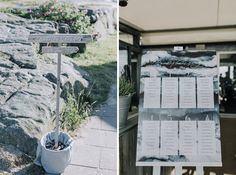 beach wedding styled by Fanny Staaf Events in Tylösand | Stationery by Elins Art Studio | Wedding dress by Morilee