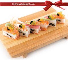 Rainbow Hako Zushi Recipe