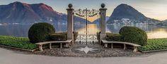 Lugano, parco Ciani Switzerland