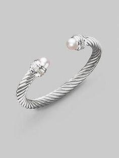 David Yurman diamond #bracelet #jewelry