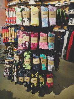 I ❤️ HUF Socks