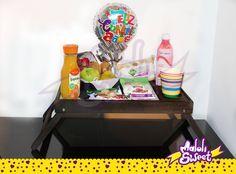 Desayuno sorpresa saludable #DesayunoEspecial #DesayunoADomicilio #Fit #DesayunoFit #Regalo #Cumpleaños #Frutas #Bogota #MaloliSweet