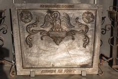 Antique #Firebacks – French firebacks - #Antique fireplaces Ideas | de-opkamer.com