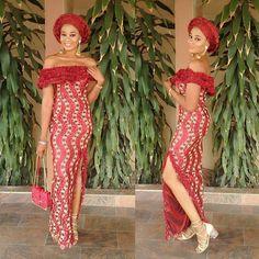 """Style Inspirations #ankarastyles #africanfashion #ankara red passion"