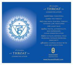 Throat Chakra http://www.yourshakti.com