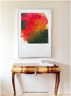 unikatowy obraz 100 x 70 sztuka nowoczesna Mallen