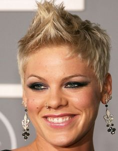 Pink hairstyles short hair Cool Style