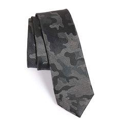 The Tie Bar Camo Silk Tie
