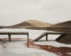 Le photographe Nadav Kander a suivit le Yangtze, le plus long fleuve chinois, pour réaliser ces photos.