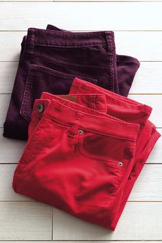 Make a splash at the holiday party in cozy and colorful Corduroy Pants. Find more great gifts at LandsEnd.com