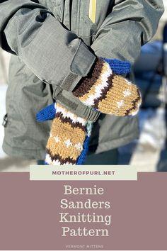 Quick Knitting Projects, Beginner Knitting Patterns, Knitting For Beginners, Knitting Ideas, Mittens Pattern, Knit Mittens, Cable Knitting, Knitting Yarn, Chunky Yarn