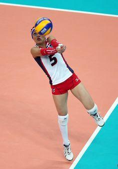Brenda Castillo Photos Photos  Olympics Day 11 - Volleyball 4e08fa77a9414