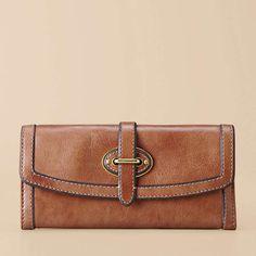 FOSSIL® Handbag Silhouettes Wallets:Women Vintage Re-Issue Flap Clutch SL3185