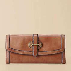 FOSSIL® Handbag Silhouettes Wallets:Women Vintage Re-Issue Flap Clutch SL3185