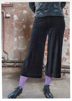 Velour pants in organic cotton / polyester 67302-55.jpg inseam 60 cm Sizes S-XXL