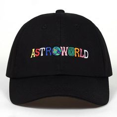 bc8b7cb8fa045 100% Cotton ASTROWORLD Unisex Baseball Caps. Dad HatsBaseball Caps For  SaleBaseball HatsEmbroidered Baseball CapsHat EmbroiderySummer Hats For  WomenEnglish ...