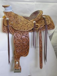 The Fernley #572 - Gallery of Custom Saddles built by Doug Cox Custom Saddles