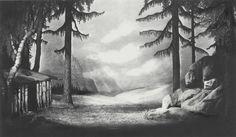 """"""" Parsifal """" 3.Aufzug 1.Bild 1937 Wieland Wagner Bühnenphoto"""