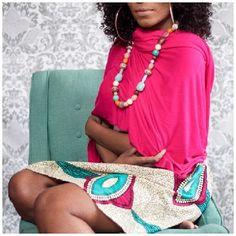 K.House Tanga African Print Skirt! A few left in stock take advantage of free shipping... Use code: July4th  http://ift.tt/298GDyj #freeshipping #style #prints #africanprint #ankara #ankarafashion #skirts