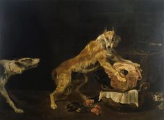Paul de Vos - Dogs with a Bull's Head