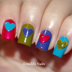 Instagram photo by   erinzi #nail #nails #nailart