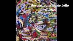La déchirure des couleurs. Auteure interprète Leila Ourzik