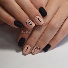 Opting for bright colours or intricate nail art isn't a must anymore. This year, nude nail designs are becoming a trend. Here are some nude nail designs. Gorgeous Nails, Pretty Nails, Perfect Nails, Nagel Tattoo, Best Nail Art Designs, Nagel Gel, Stylish Nails, Black Nails, Diy Nails