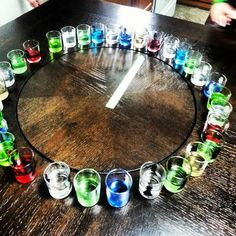 shot roulette - where was this when I was 21different country shots