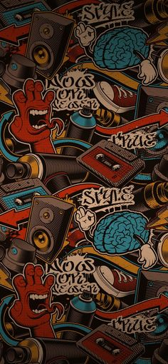 Iphone Wallpaper Nasa, Graffiti Wallpaper Iphone, Scary Wallpaper, Iphone Homescreen Wallpaper, Pop Art Wallpaper, Hippie Wallpaper, Trippy Wallpaper, Graphic Wallpaper, Iphone Background Wallpaper