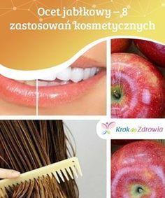 #Ocet jabłkowy – 8 zastosowań #kosmetycznych Ocet #jabłkowy może być bardzo skutecznym lekiem na wiele schorzeń. #Kiedy stosujesz go na skórę, pamiętaj, aby rozpuścić go w wodzie #gdyż może podrażnić skórę Grapefruit, Blond, Apple, Health, Spa, Education, Apple Fruit, Health Care, Teaching