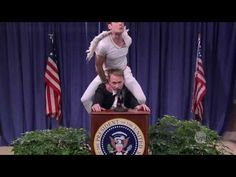 Studio C Presidential Shoulder Angel -- best Studio C video EVER