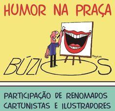 REGIÃO DOS LAGOS - BÚZIOS JORNAL O RESUMO: Humor na Praça em Búzios
