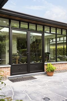 Veranda – Rebel Without Applause A Frame House Plans, House Floor Plans, House Extension Design, House Design, Veranda Aluminium, Wood Cafe, Casa Patio, Front Door Design, House With Porch