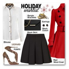"""Holiday Wishlist"" by brendariley-1 ❤ liked on Polyvore featuring Christian Louboutin, Episode, Topshop, MICHAEL Michael Kors and Kate Spade"