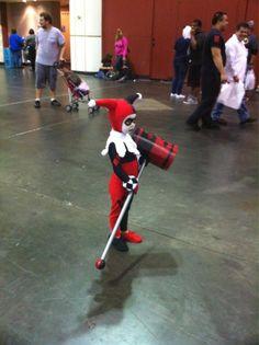 Harley Quinn in training