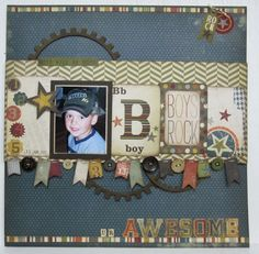 www.scrapbookcentral-ab.com Simple Stories Awesome collection.
